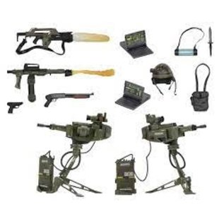 NECA Aliens - Accessory Pack - USCM Arsenal Weapons Pack (Case 6)