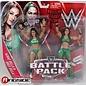 Mattel WWE Battle Pack: Nikki Bella & Brie Bella Divas Figures