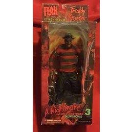 Mezco Cinema Of Fear: Freddy Krueger 12 Inch Deluxe Scale Figure