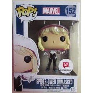 Funko Marvel: Spider-Gwen  Unmasked Funko POP! #152