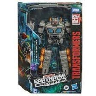 "Hasbro Transformers: Earthrise ""War for Cybertron"" Decepticon Fasttrack Deluxe Class"