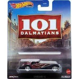 Mattel Hot Wheels: 101 Dalmatians Cruella De Vil