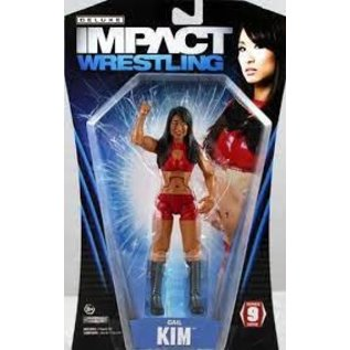 Impact Wrestling: Signed Gail Kim Deluxe Figure With COA(Damaged Cardboard)