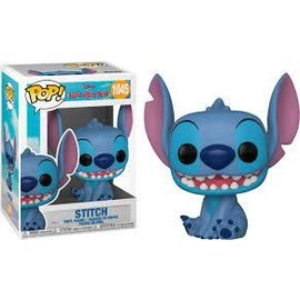 Funko Lilo & Stitch: Smiling Seated Stitch Funko POP! #1045
