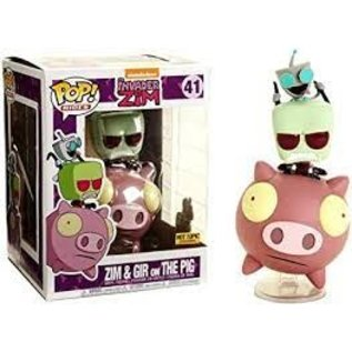 Funko Invader Zim: Zim & Gir on The Pig Hot Topic Exclusive Funko POP! #41