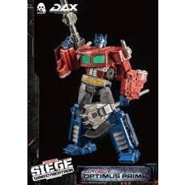 Sideshow Collectibles Optimus Prime DLX Collectible Figure - Transformers: War for Cyberton Trilogy (Threezero)