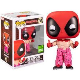 Funko Marvel: Deadpool With Teddy Pants 2021  Spring Convention Exclusive Funko POP! #754