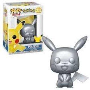 Funko Pokemon: Pikachu Chrome 25th Anniversary Funko POP! #353