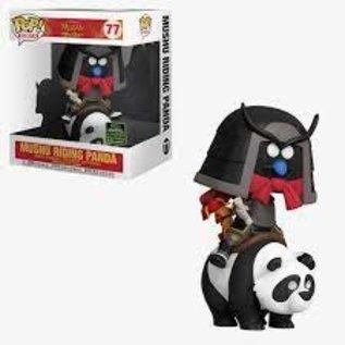Funko Mulan: Mushu Riding Panda 2020 Spring Convention Exclusive Funko Ride! #77
