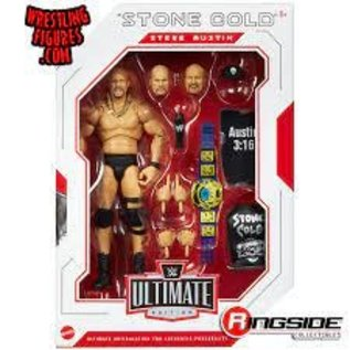 Mattel WWE Ultimate Edition: Stone Cold Steve Austin Figure