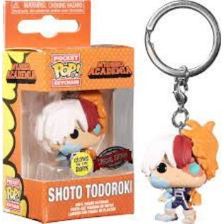 Funko My Hero Academia: Shoto Todoroki  (GITD) AAA Anime Exclusive Pocket POP! Keychain