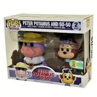 Funko Hanna Barbera: Peter Potamus and So-So 750pcs Sand Diego Exclusive Funko POP! 2 Pack