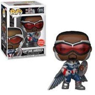 Funko The Falcon and the Winter Soldier: Captain America (Sam Wilson) Gamestop Exclusive Funko POP! #819