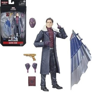 """Hasbro Marvel Legends The Falcon and the Winter Soldier: Baron Zemo 6"""" Figure"""
