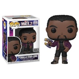 Funko Marvel Whats If..?: T'Challa Star-Lord  FYE Exclusive Funko POP! #876