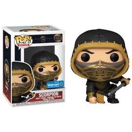 Funko Mortal Kombat Scorpion Walmart Exclusive Funko POP! #1058