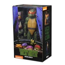 NECA Teenage Mutant Ninja Turtles: Michelangelo 1:4 Scale Action Figure