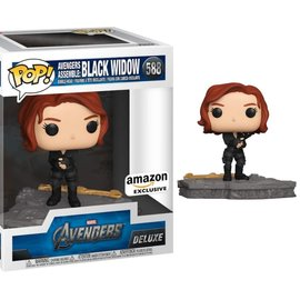 Funko Marvel Avengers Assemble: Black Widow Amazon Exclusive Funko POP! #588