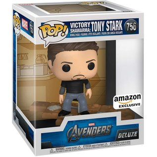 Funko Marvel Victory Shawarma: Tony Stark Amazon Exclusive Funko POP! #756