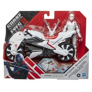 Hasbro Copy of G.I. Joe Origins Snake Eyes Movie Snake Eyes with Stealth Cycle