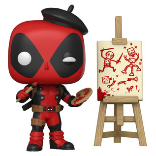 Funko Deadpool: Artist Deadpool Gamestop Exclusive Funko POP! #887