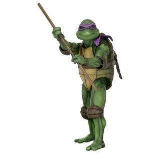 NECA Teenage Mutant Ninja Turtles: Donatello 1:4 Scale Action Figure
