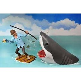 NECA Toony Terrors Jaws: Quint And Jaws 2pack