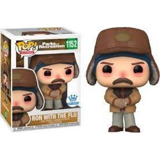 Funko Parks And Recreation: Ron With The Flu Funko Shop Exclusive Funko POP! #1152