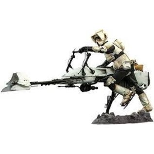Hot Toys The Mandalorian: Scout Trooper and Speeder Bike 1:6 Set Hot Toys