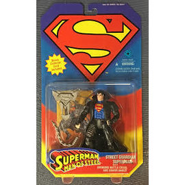Kenner Superman Man Of Steel: Street Guardian Superman