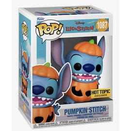 Funko Disney's Lilo & Stitch: Pumpkin Stitch Hot Topic Exclusive Funko POP! #1087