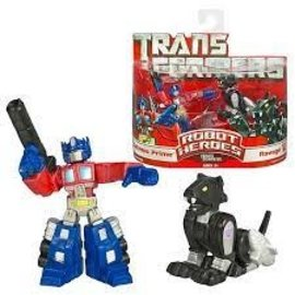 Hasbro Transformers Robot Heroes: Optimus Prime & Ravage