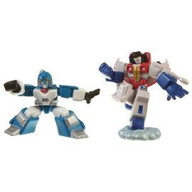 Hasbro Transformers Robot Heroes: Mirage & Starscream
