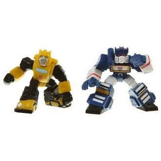 Hasbro Transformers Robot Heroes: Bumblebee & Soundwave