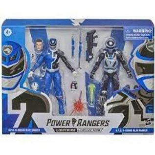 Hasbro Power Rangers Lighting Collection: S.P.D. B-Squad Blue Ranger & S.P.D. A-Squad Blue Ranger 2pack