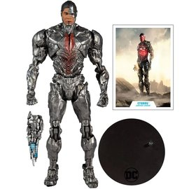DC Zack Snyder Justice League : Cyborg 7-Inch Action Figure