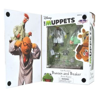 Diamond Select Toys The Muppets: Bunsen and Beaker PX Previews Exclusive (SDCC 2021) Figures 2 Pack