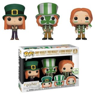 Funko Harry Potter: Ginny Weasley, Fred Weasley, and George Weasley 2019 Convention Exclusive Funko POP! 3 Pack