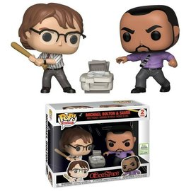 Funko Office Space: Michael Bolton & Samir 2019 Convention Exclusive Funko POP! 2 Pack