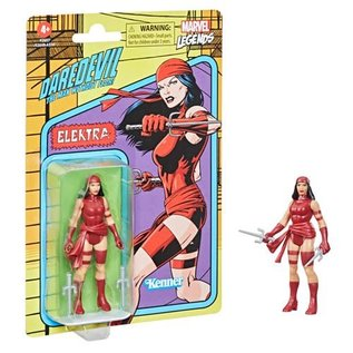 "Hasbro Marvel Legends Retro 375: Elektra 3 3/4"" Figure"