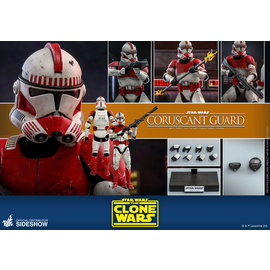 Hot Toys Star Wars: Coruscant Guard 1:6 Scale Figure The Clone Wars (Hot Toys)