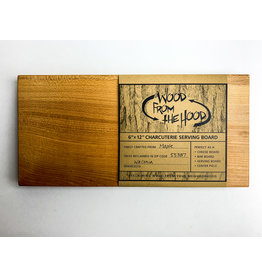 Wood From the Hood 6x12 Serving Board - OL