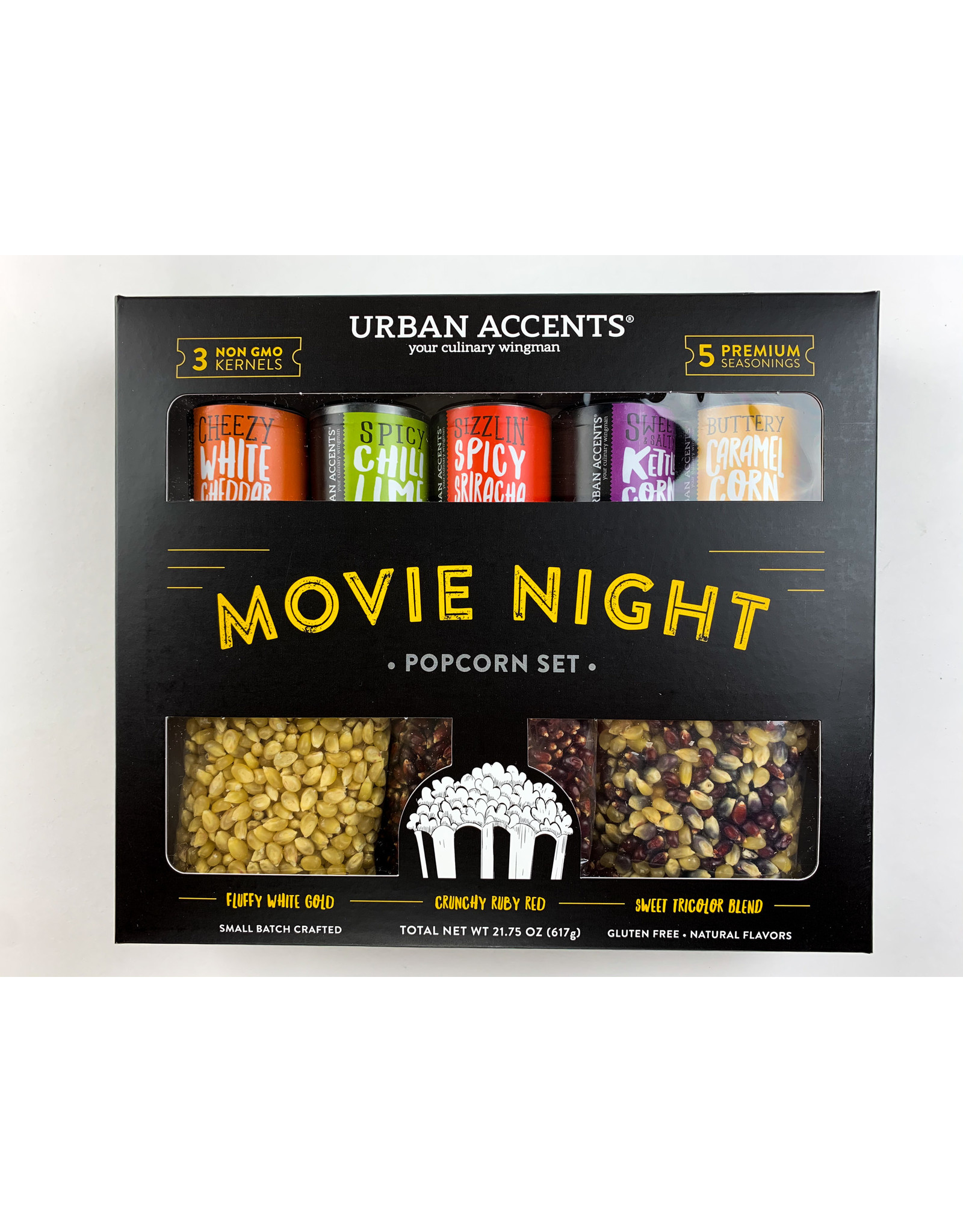 urban accents Movie Night Gift Set