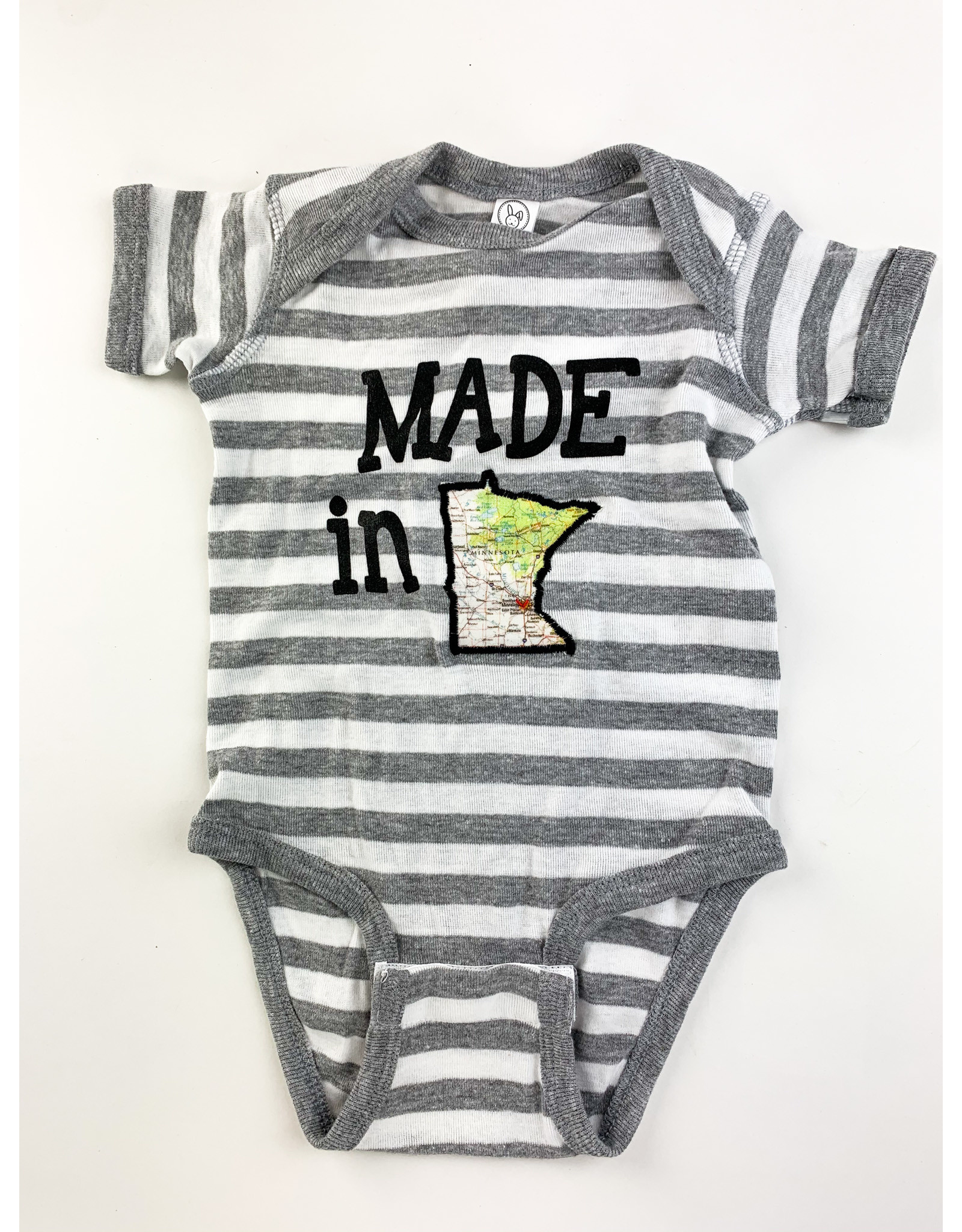 Taylor&Coultas American Mn. Striped onesie- 12mth.