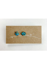 Mountain Metal Artisan Jewelry - consignment MM3 Turquoise studs - consignment
