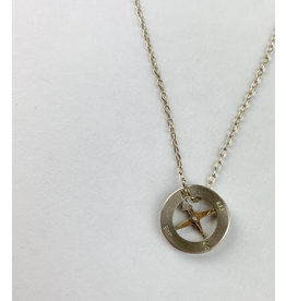 penny larsen Compass/Silver