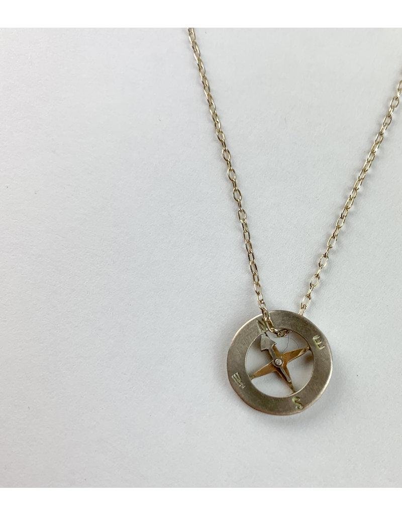 penny larsen Compass/Silver