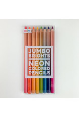 Ooly - International Arrivals Neon colored pencils