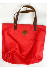 Yvonne Nicole Designs YG002 red market bag consignment