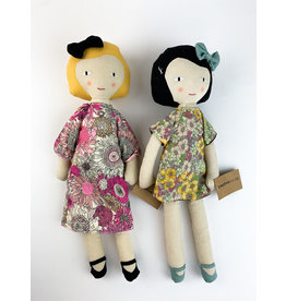 Creative Co-Op Assorted Cotton Plush Girl Doll